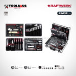 1043 KRAFTWERK maleta aluminio herramientas completo 109 piezas _06