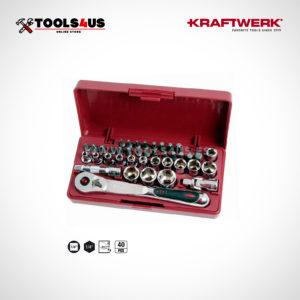 4033 Estuche set llaves vaso 40 piezas carraca compacto eXtreme kraftwerk _01