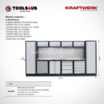 3964FIX Kraftwerk Mueble Modular Taller 6 Elementos INOX 03