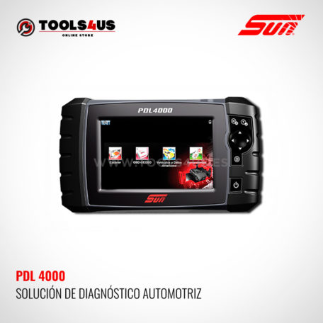 PDL4000 SUN SNAP-ON herramienta modulo de diagnosis general vehiculos taller coches multimarca multimetro osciloscopio