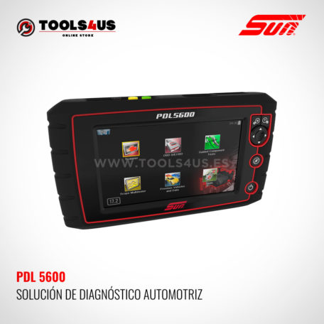 PDL5600 SUN SNAP-ON herramienta modulo de diagnosis general vehiculos taller coches multimarca multimetro osciloscopio