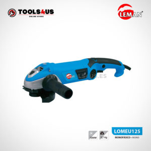 LOMEU125 Amoladora Radial de Angulo 125Ø 1200W Leman 01